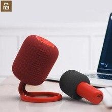 Youpin ULlife IK8 bezprzewodowe głośniki z Bluetooth rejestrator przenośny KTV mikrofon ręczny głośnik Karaoke Box dźwięk głośnik