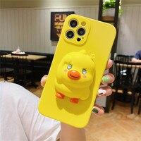 Custodia Relive Stress Duck per Samsung Galaxy M20 M21S M30S M51 M31S M62 A5 A6 A7 A8 J3 J4 CORE J5 J6 Plus J7 Prime 2016 2017 2018