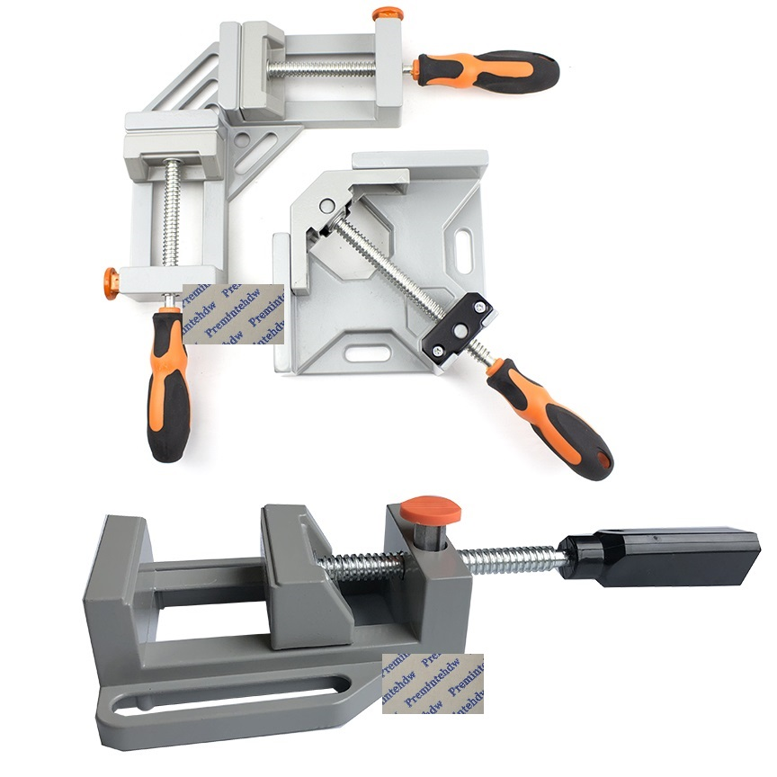 90° Right Angle Clamps Corner Tools Carpenter Welding Woodworking Photo Framing
