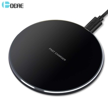 FDGAO 15W QI Quick Wireless Charger Pad USB Tpye C QC 3.0 10W Fast Charging Dock Station For iPhone 11 XS XR X 8 Samsung S10 S9