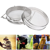 Honey Strainer Double Sieve Stainless Steel Beekeeping Equipment Filter Reusable Eco Friendly Resistant Oxidation Tool  06|Beekeeping Tools|Home & Garden -