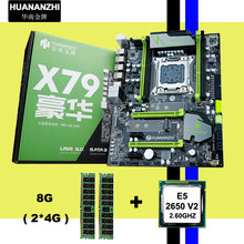 ! !! HUANAN V2.49 X79 motherboard CPU RAM combos Xeon E5 2650 V2 CPU (2*4G) 8G DDR3 RECC memorry alle gute geprüft 2 jahre garantie(China)