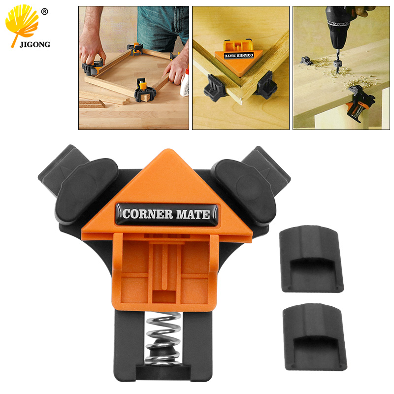 90 Degree Right Angle Clamp Fixing Clips Picture Frame Corner Clamp Woodworking Hand Tool Angle Clamps Pipe Clamp