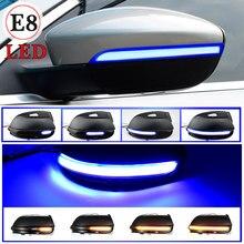 Intermitente dinámico para coche, señal de giro, indicador de espejo lateral para Volkswagen, EOS Light Beetle 2011, 2014, VW, Passat B7, CC, Scirocco