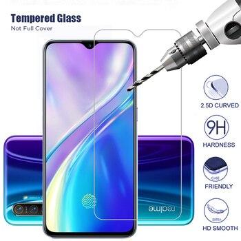 Перейти на Алиэкспресс и купить HD 9H закаленное стекло для Realme 6i 6S Q U1 Narzo 10 10A Защитная пленка для экрана Realme 6 Pro защита сотового телефона Realme6