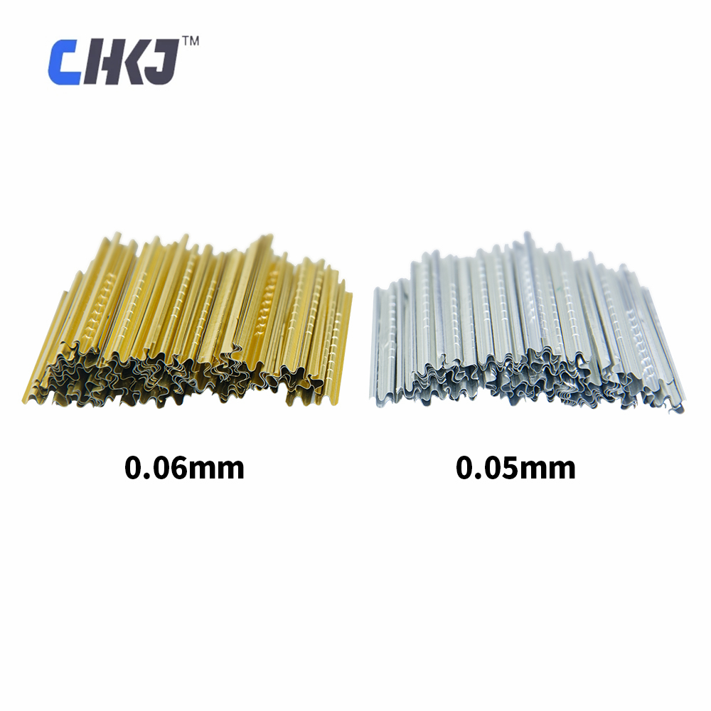 CHKJ Locksmith tools Finished tin foil strip gold and silver tin foil key consumables