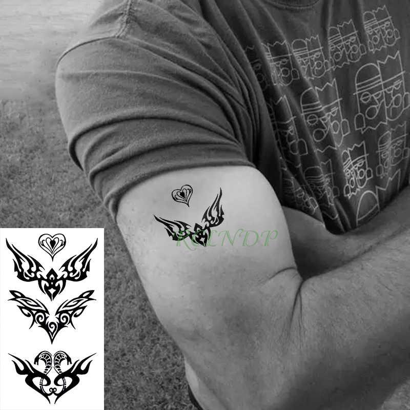Su geçirmez geçici dövme etiket Naruto yedi nesil gölgeler sahte dövme çıkartma flaş dövme erkekler kadınlar çocuklar için