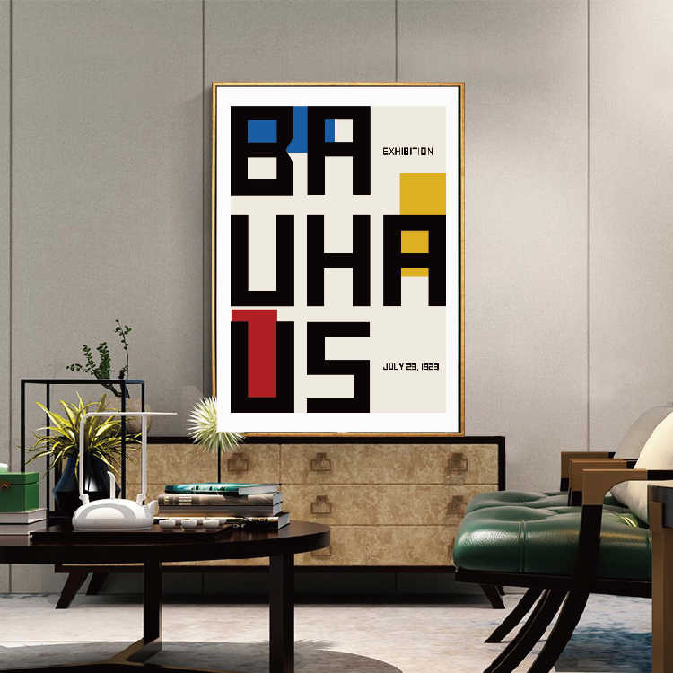 Bauhaus Poster Reproduction Poster Art&Geometric poster Abstract wall art Bauhaus modern Prints Posters for living rome