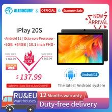 Tablet ALLDOCUBE iPlay 20S da 10.1 pollici Android 11 4G LTE octa-core 6GB RAM 64GB ROM 1920 × 1200 IPS Tablet PC Unisoc®SC9863A