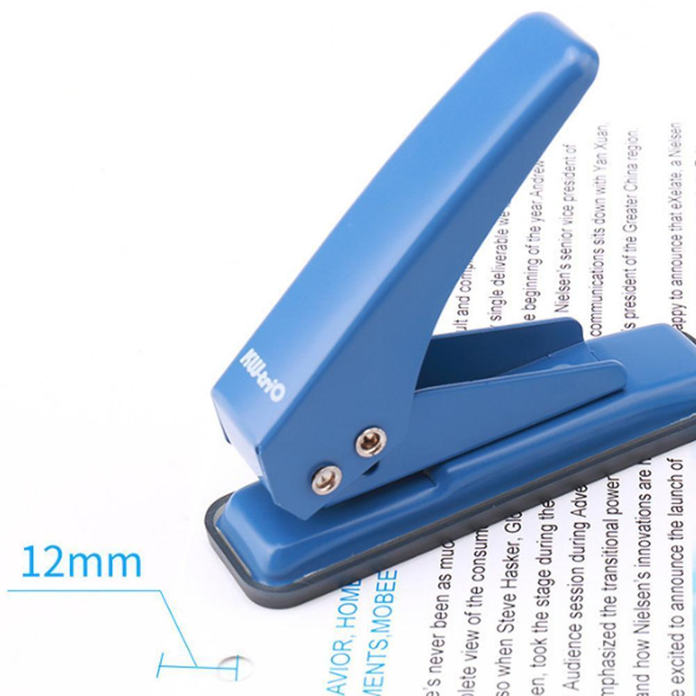 Creative Mushroom Hole Puncher Paper T-type Puncher De Paper Supply Perforadora Papel Office Diy Stationery Craft V0A1