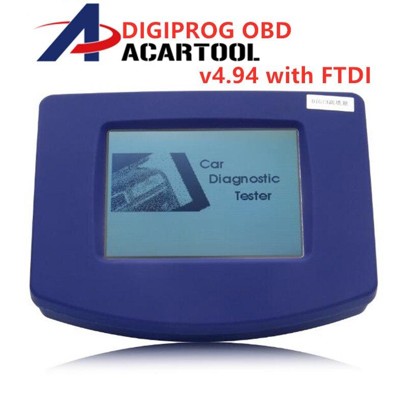 Best Digiprog III V4 94 Digiprog 3 with OBD2 ST01 ST04 cable odometer correction tool OBD2