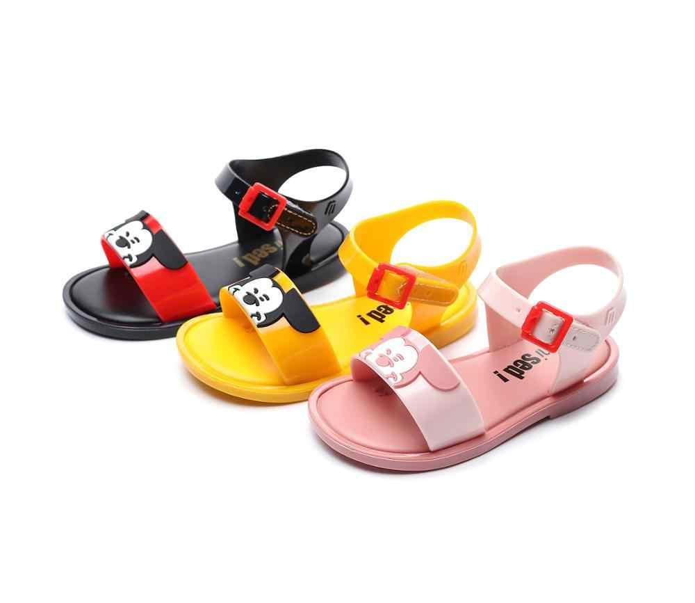 Mini Sed Kinderen Jelly Schoenen Kids Meisje Melissa Zachte Mickey Sandaal Baby Mode Meisje En Jongen Strand Sandalen Snoep schoenen SH037