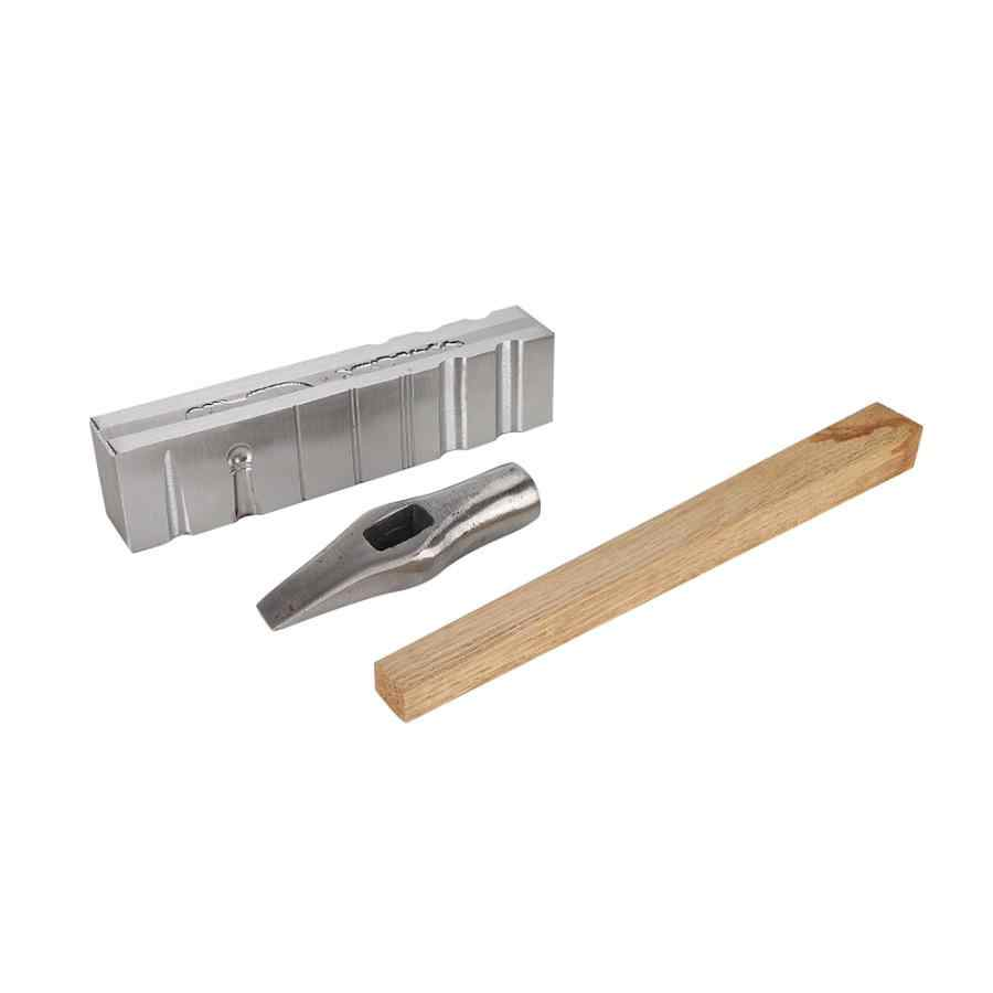 מקצועי טבעת צמיד ערוץ צמיד חריץ DIY תכשיטי ביצוע עיבוד כלי עם פטיש נוח לשימוש תכשיטי כלי