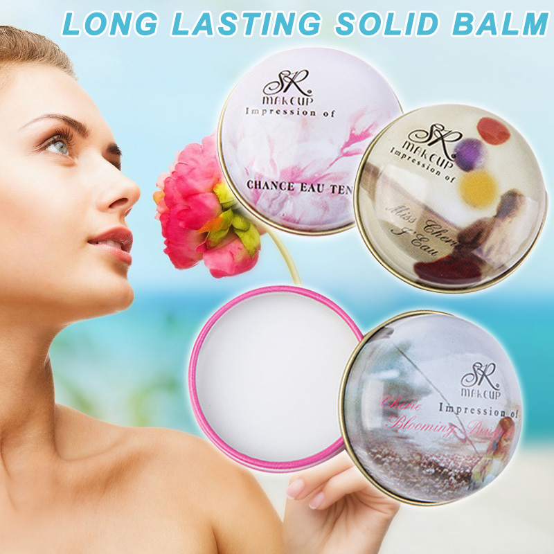 Dropshipping Hot Sale Women Solid Parfume Fragrances Deodorant Solid Perfumes Fragrance 15g SMJ