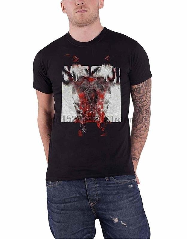 Slipknot /'Diablo/' único Negro T-Shirt-Nuevo Y Oficial!