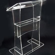 Прозрачный акриловый Подиум Кафедра Производитель поставки акриловый подиум простой пюпитр оргстекло