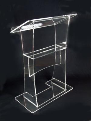 Clear Acrylic Podium Pulpit Lectern Manufacturer Supplies Acrylic Lectern Simple Lectern Plexiglass