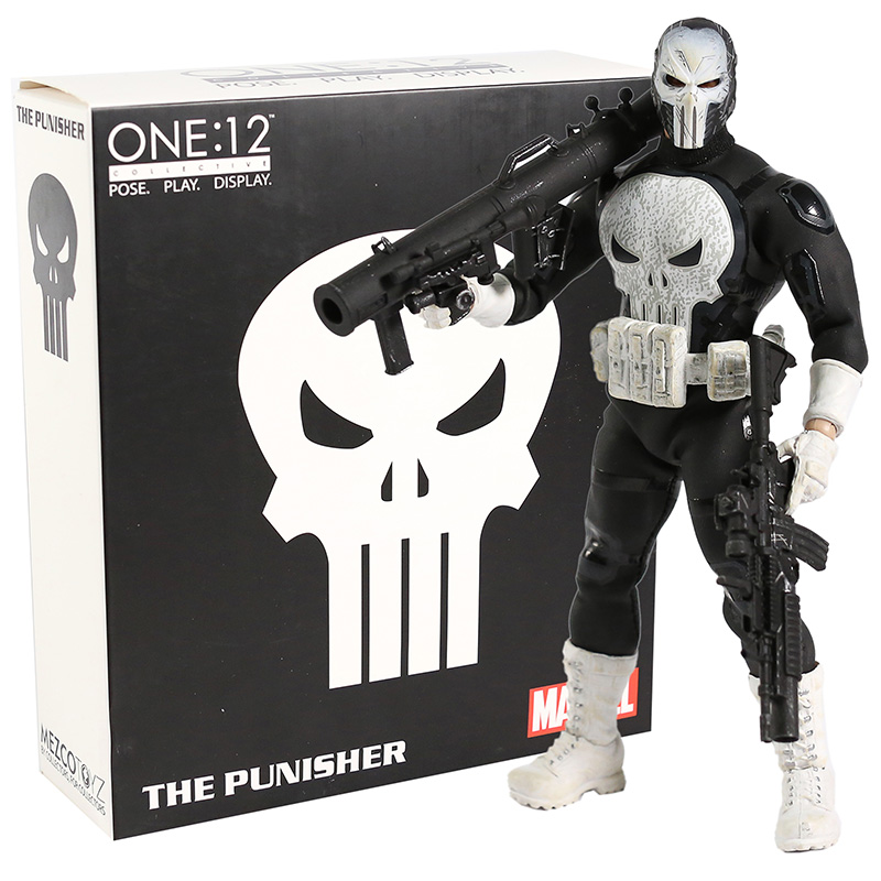 Mezco One:12 The Punisher Special Action Figure Model Toys Doll Gift For Kid