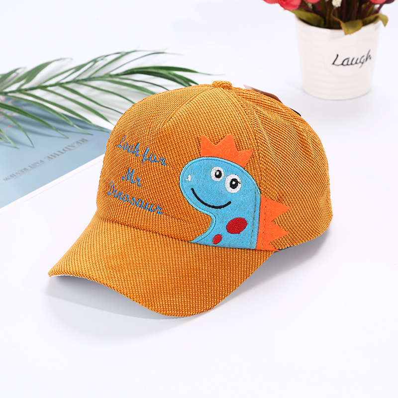 Hcf21c9eea02242e0ab03ef035c0520f5u - Spring Autumn Baby Baseball Cap Cartoon Dinosaur Baby Boys Caps Fashion Toddler Infant Hat Children Kids Baseball Cap