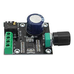 Image 4 - PAM8610 çift kanallı DC 12V HD saf dijital ses Stereo amplifikatör kurulu sınıf D 15W x 2 yüksek güç amplifikatörü modülü