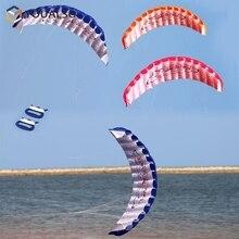 Kite Parachute Parafoil Sport Stunt Zachte Grote Dual-Line Enorme Activiteit Outdoor