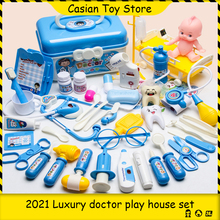 Toys Doctor-Set Medical-Kit Dentist Children's Pretend-Play-Bag Role-Playing-Games Hospital-Accessorie