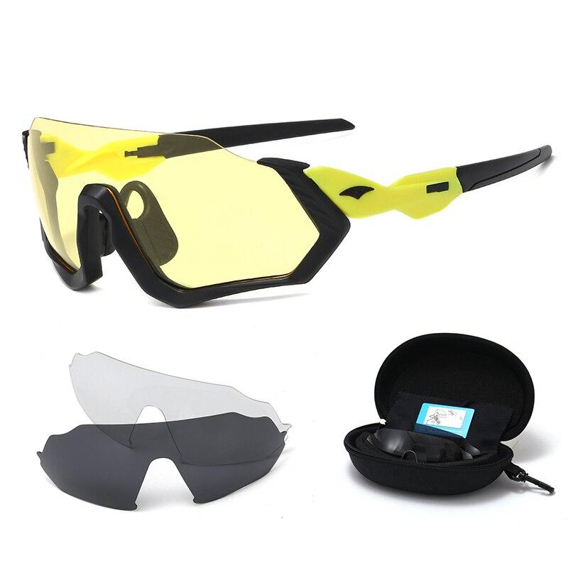 Polarized Lens Cycling Glasses Bicycle Road Bike Sport Sunglasses Mens Cycling Eyewear Gafas Ciclismo Oculos Carretera Occhiali