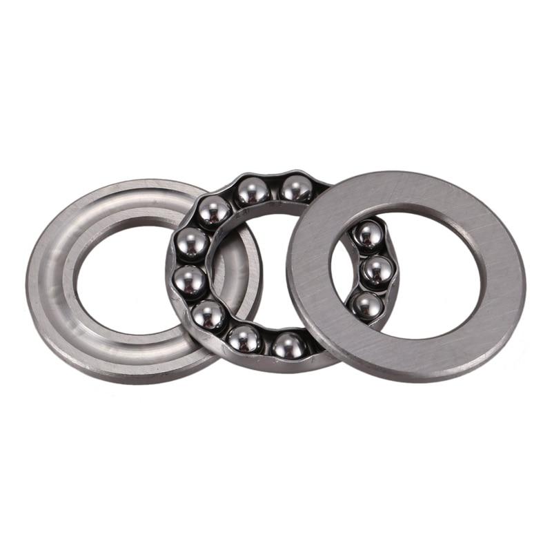 Bearings & Bushings 2 Pcs Axial Ball Thrust Bearing 51104 20 x 35 ...
