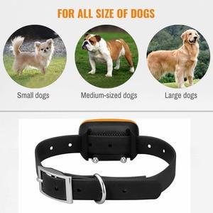 Image 3 - تعزيز الكلب طوق تدريب قابلة للشحن صدمة كهربائية الاهتزاز الصوت للكلاب الكبيرة الصغيرة IP67 النباح طوق تدريب الكلاب