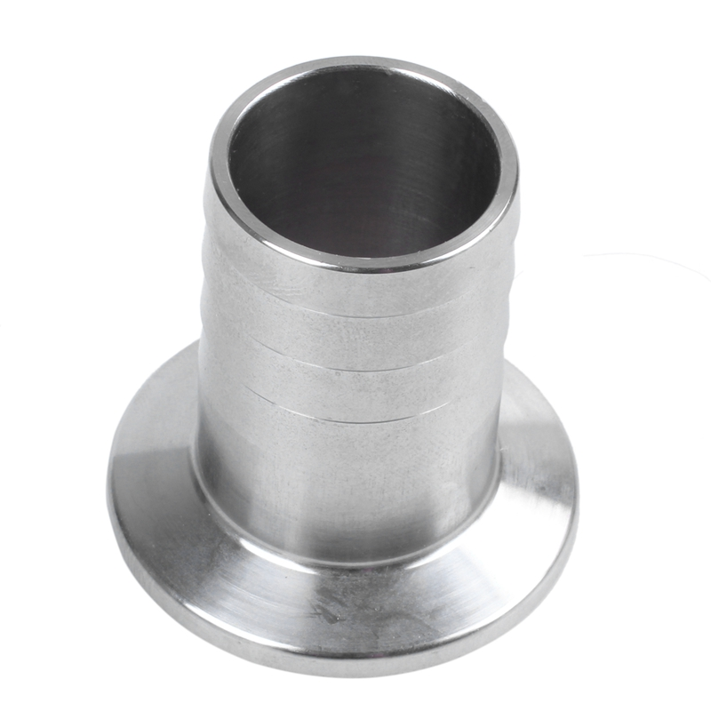Stainless Steel 304 KF25-25 Flange to 25mm Hose Barb Adapter for Vacuum