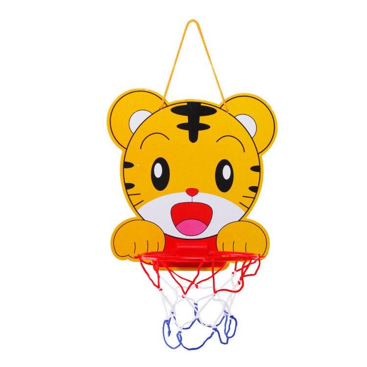 Children Adjustable Basketball Hoop Baby Cartoon Animal Basketball Activity-Toy Stall Hot Selling
