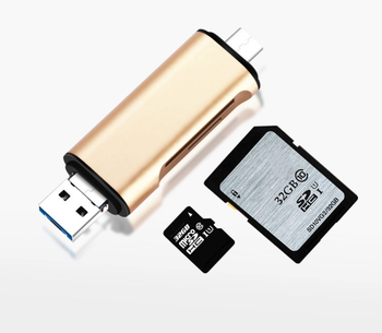 Multifunctional card reader all-in-one Android computer universal type-c card reader usb mobile computer Tf / sd card