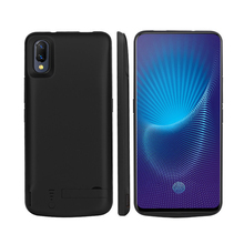 Leioua Charger Case 6000mah For Iphone X Xs Juice Power Bank Cover Case Black New For Iphone Xs Max