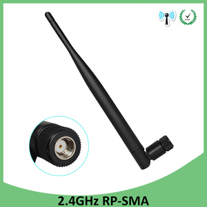 Image 2 - 2.4 GHz هوائي wifi 5dBi RP SMA الإناث 2.4 ghz انتينا واي فاي 2.4G antenne الجوي هوائيات antenas ل اللاسلكية واي فاي راوتر