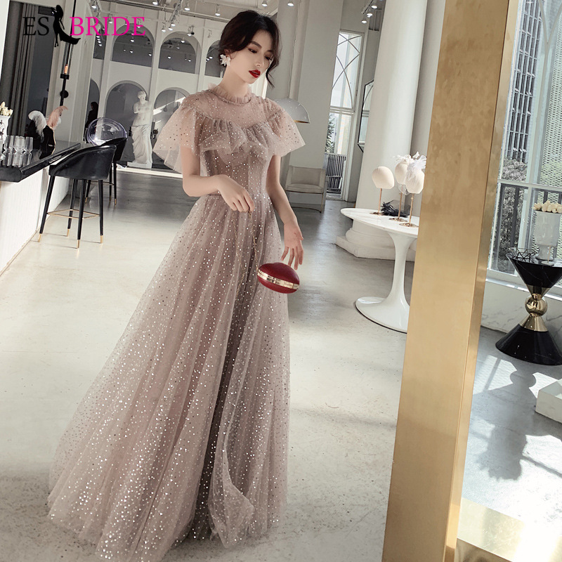 ES2723  Prom Dresses 2019 Long  Dress Prom Long Elegant Dresses Party For Woman Special Occasion Dress Vestidos De Fiesta