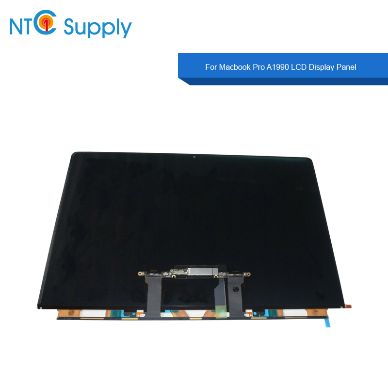 Laptop LCD <font><b>Display</b></font> Panel For Macbook Pro <font><b>A1990</b></font> LCD <font><b>Display</b></font> Screen Panel 2018 year EMC 3215 tested good <font><b>A1990</b></font> LCD Screen Glass image