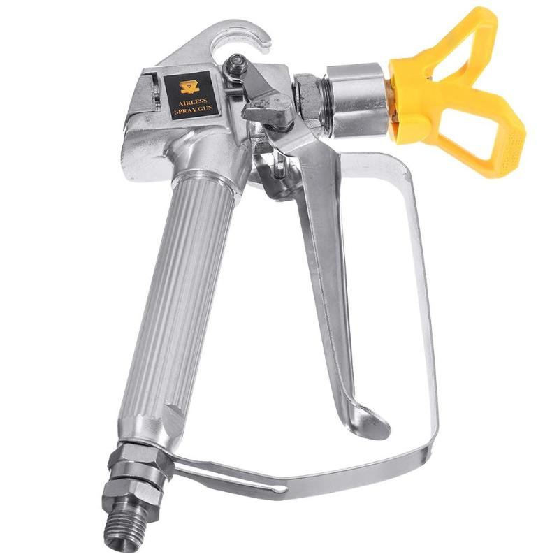 Universal Spray Gun Quick Edge Airless Paint Sprayer 3600psi Tungsten Steel Spraying Guide Machine Power Accessories