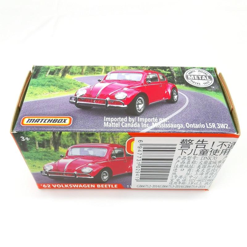 2019 Matchbox Cars 1:64 Car 62 VOLKSWAGEN BEETLE Metal Diecast Alloy Model Car Toy Vehicles