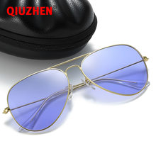 Brand Designer RB Unisex Ocean Color Pilot Sunglasses for Youth Fashion Polarized Sun Glasses Men and Women Trendy Sunglass 3025