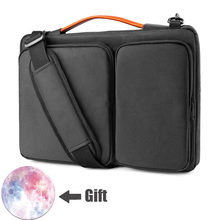 "Portable Laptop Bag 13"" 13.3"" 14"" 15.4"" 15.6"" Travel Carrying Case Waterproof Notebook Handbag for Macbook Air Pro Shoulder Bag"