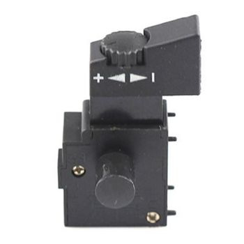 Hand Drill Speed Switch 250V 6A Lock On Pushbutton Speed Control Trigger Switch G8TB цена 2017