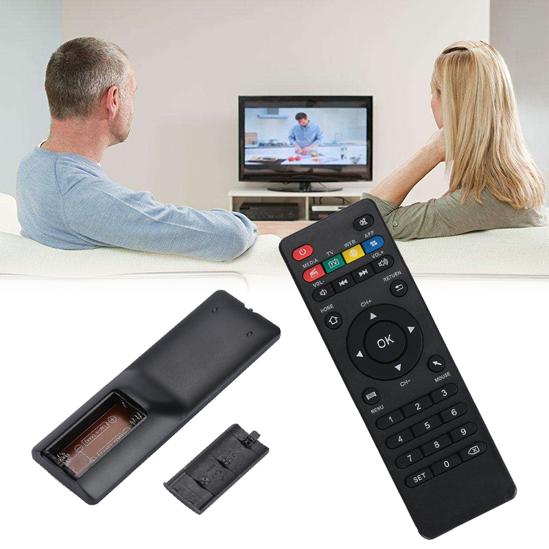 Universal IR Remote Controller for MXQ/X96/V88/<font><b>MX</b></font> T95N T95M Android TV <font><b>Box</b></font> TV Set-top <font><b>Box</b></font> Remote Control Replacement image