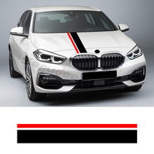 Car Bonnet Hood Sticker Head Engine Cover Racing Sport Decal For BMW F10 F30 E90 M4 F22 E46 E82 F20 X5 E70 F15 X3 F32 G30 G20 Z4