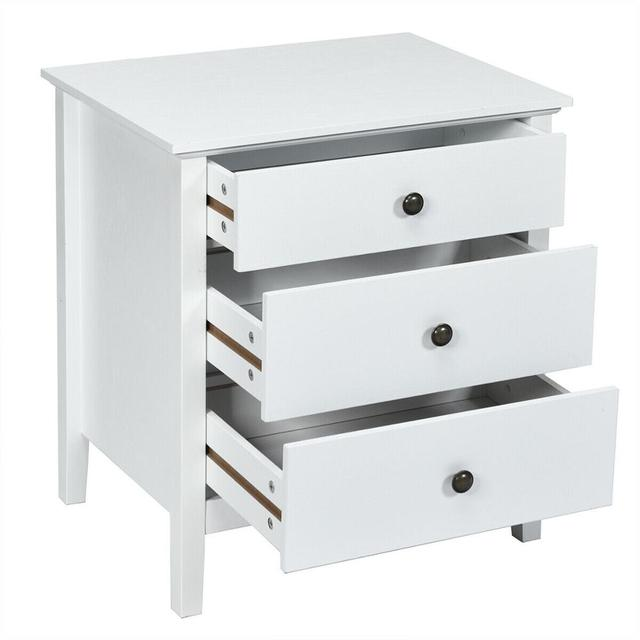 Accent Table Organizer W/3 Drawers  6