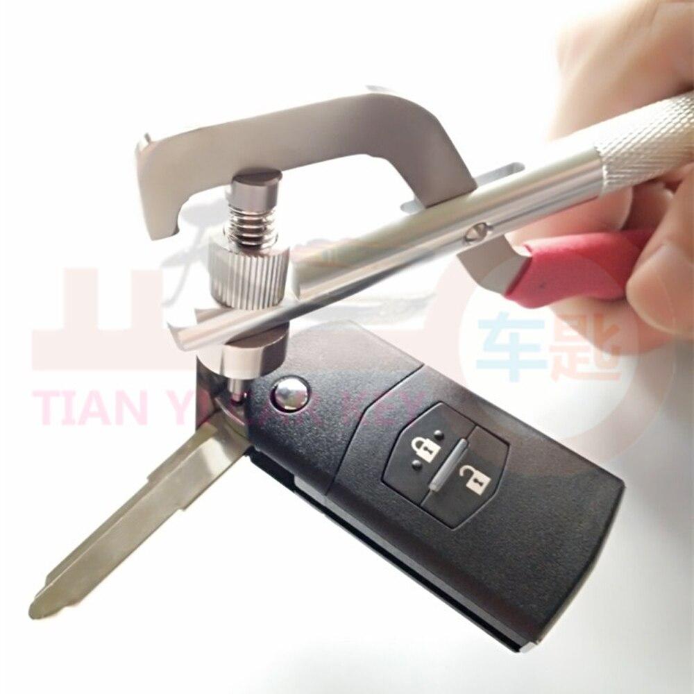CHKJ Original HUK Folding Key Split Pin Clamp Auto Remote Car Key Disassembly Pliers Tool Flip Key Remover Car Key Fixing Tool