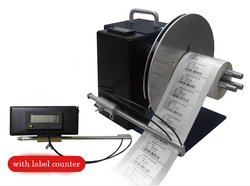 Bi-directional Auto label rücklauf zurückspulen maschine aufwickler 100mm N3 Mit Zähler 110 V-220 V