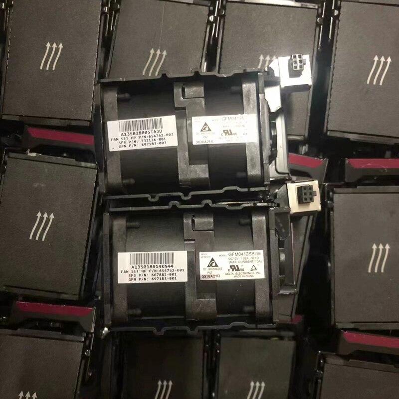 Cooling Fan for HP DL360 DL360p DL360e G8 697183-003 654752-001 667882-001