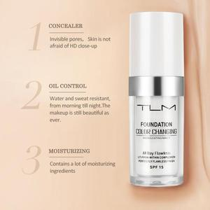 Image 5 - Hot TLM 30ML Color Changing Foundation Profesional Temperature Change Liquid Foundation Concealer Base Cosmetics TSLM1