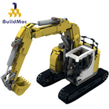 Compatible With Lepined Technic series 10394 Bricks Liebherrs-Excavator 926 Motor Power Car Model Kit Building Blocks DIY TOYS 20004 app rc technic series car motor power mobile crane mk ii model building blocks bricks compatible with 42009 toys kids gift