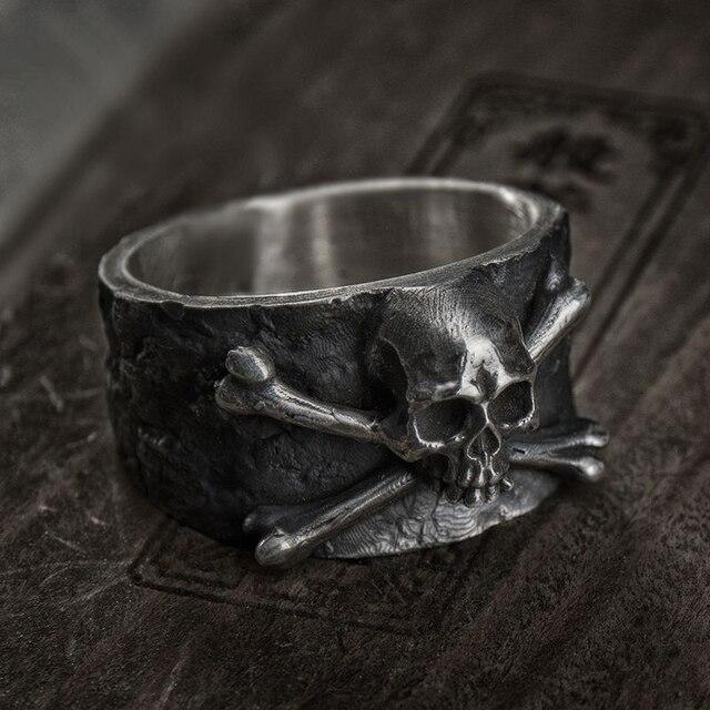 Bague tête de mort Pirate